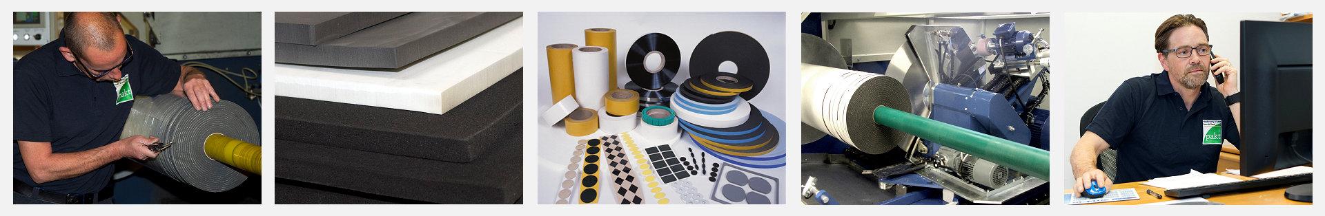 Rubber, Foam, Plastic Manufacturer